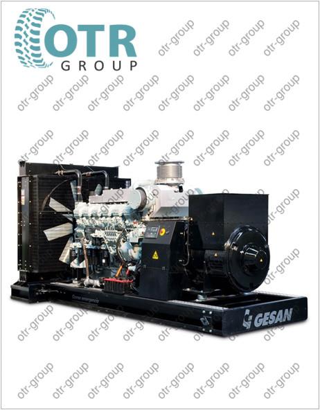 Запчасти на дизельный генератор Gesan DHA 1500 E