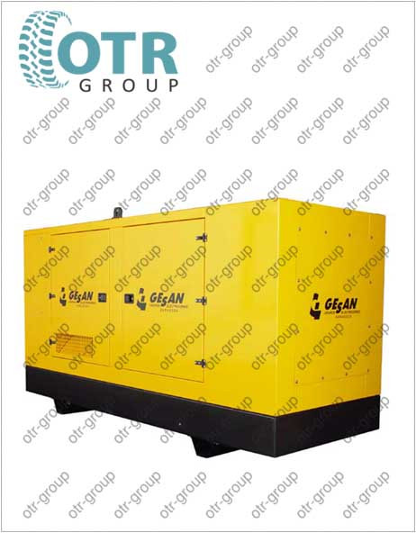 Запчасти на дизельный генератор Gesan DCA 1500 E