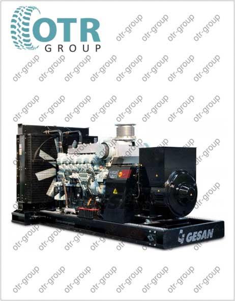 Запчасти на дизельный генератор Gesan DHA 1750 E