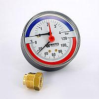 Термоманометр 80мм Watts (Задний)