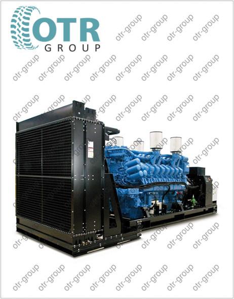 Запчасти на дизельный генератор Gesan DHA 2050 E
