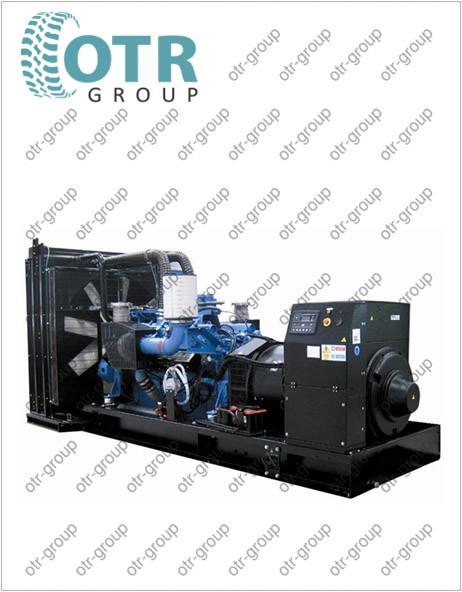 Запчасти на дизельный генератор Gesan DTA 2050E