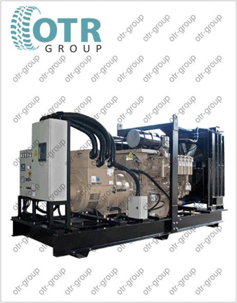 Запчасти на дизельный генератор Gesan DCA 2050 E