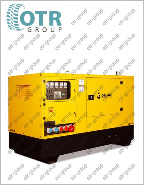 Запчасти на дизельный генератор Gesan DCA 2200 E