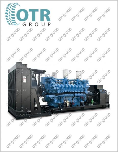 Запчасти на дизельный генератор Gesan DTA 2500E