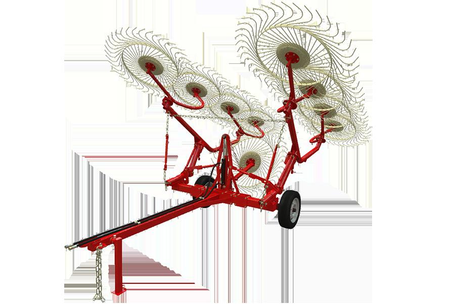 Грабли-ворошилки колесные ГВВ-6М (6 метров)
