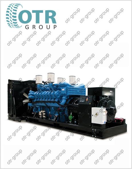 Запчасти на дизельный генератор Gesan DTA 2750E