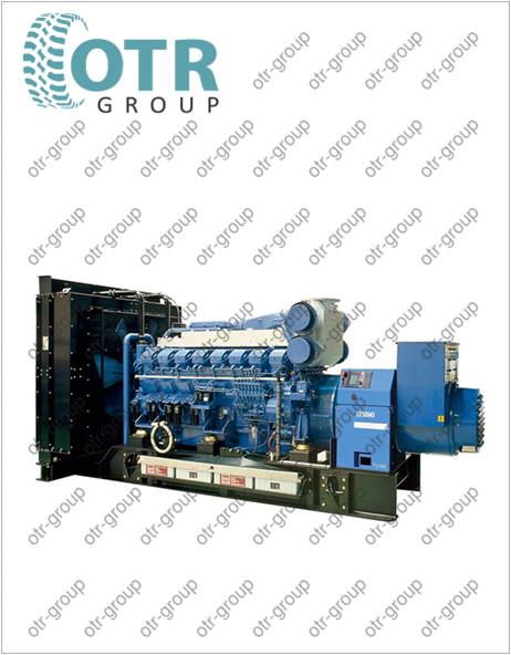 Запчасти на дизельный генератор Gesan DTA 3100E