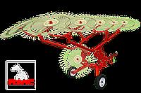 Грабли валковые колесно-пальцевые ГВКП-7.10 «BRAVO», фото 1