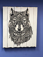 Картина «Волк» 50×60 см
