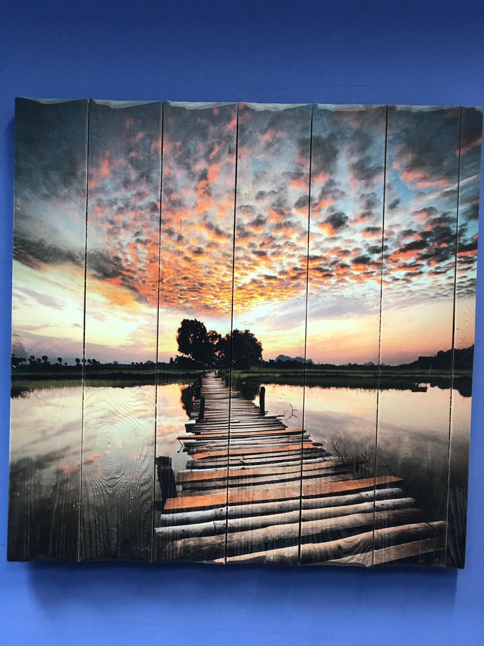 Картина «Мостик к реке» 60×80 см
