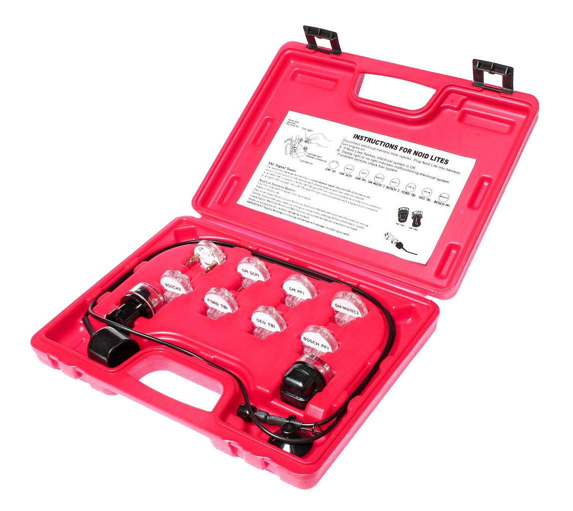 JTC Набор индикаторов для проверки сигналов электронных систем впрыска (TBI,PFI,SCPI) в кейсе JTC