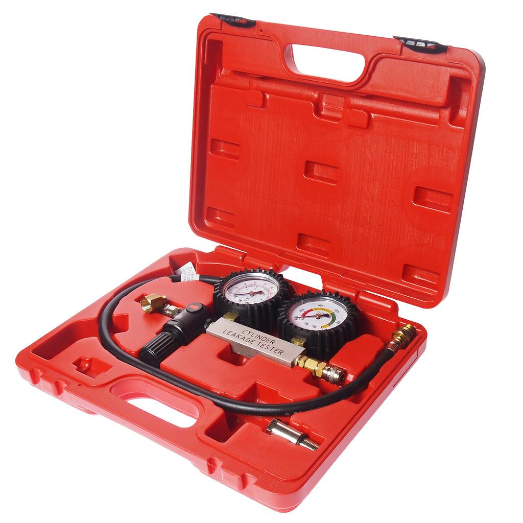 JTC Набор инструментов для выявления утечек в цилиндрах, диапазон 0-100PSI в кейсе JTC