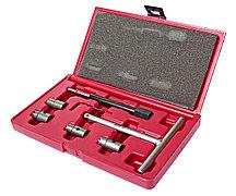 JTC Набор инструментов для притирки седел форсунок дизельного двигателя 7 предметов в кейсе JTC