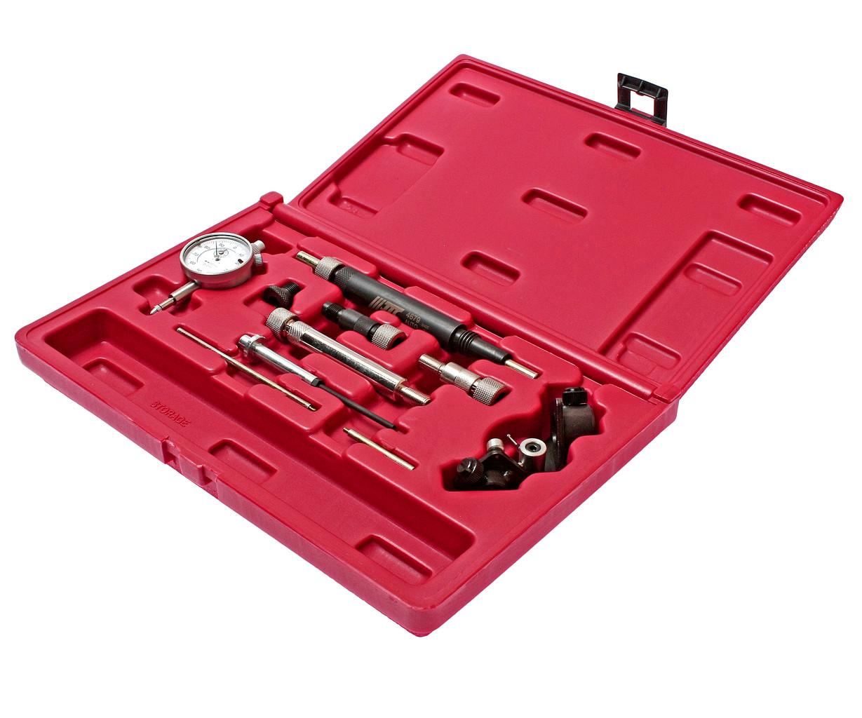 JTC Набор инструментов для регулировки ТНВД (дизель) 11 предметов в кейсе JTC