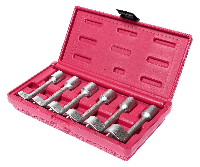 JTC Набор ключей разрезных 12-19мм L-образных 6 предметов JTC
