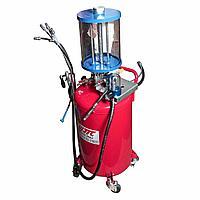 JTC Приспособление для откачивания технических жидкостей 12л, емкость бака 80л JTC