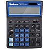 """Калькулятор настольный Berlingo""""City Style"""" 12 разрядный CIB212 чёрный/синий"""