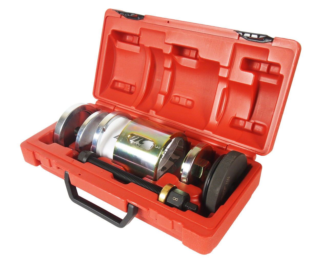 JTC Набор инструментов для демонтажа/монтажа сайлентблоков (MERCEDES W212,207,212,216,221,222,231) JTC