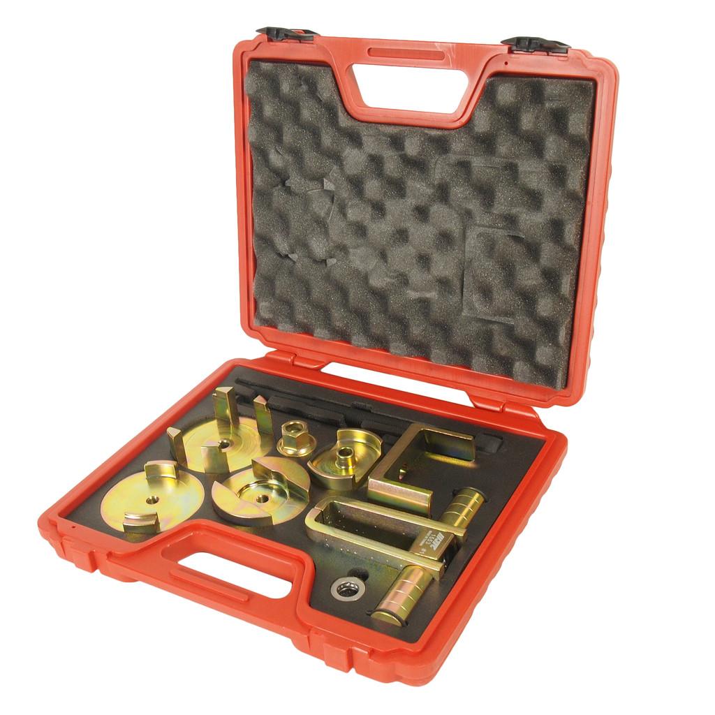 JTC Набор инструментов для демонтажа/монтажа сайлентблоков подрамника (MERCEDES W203) JTC