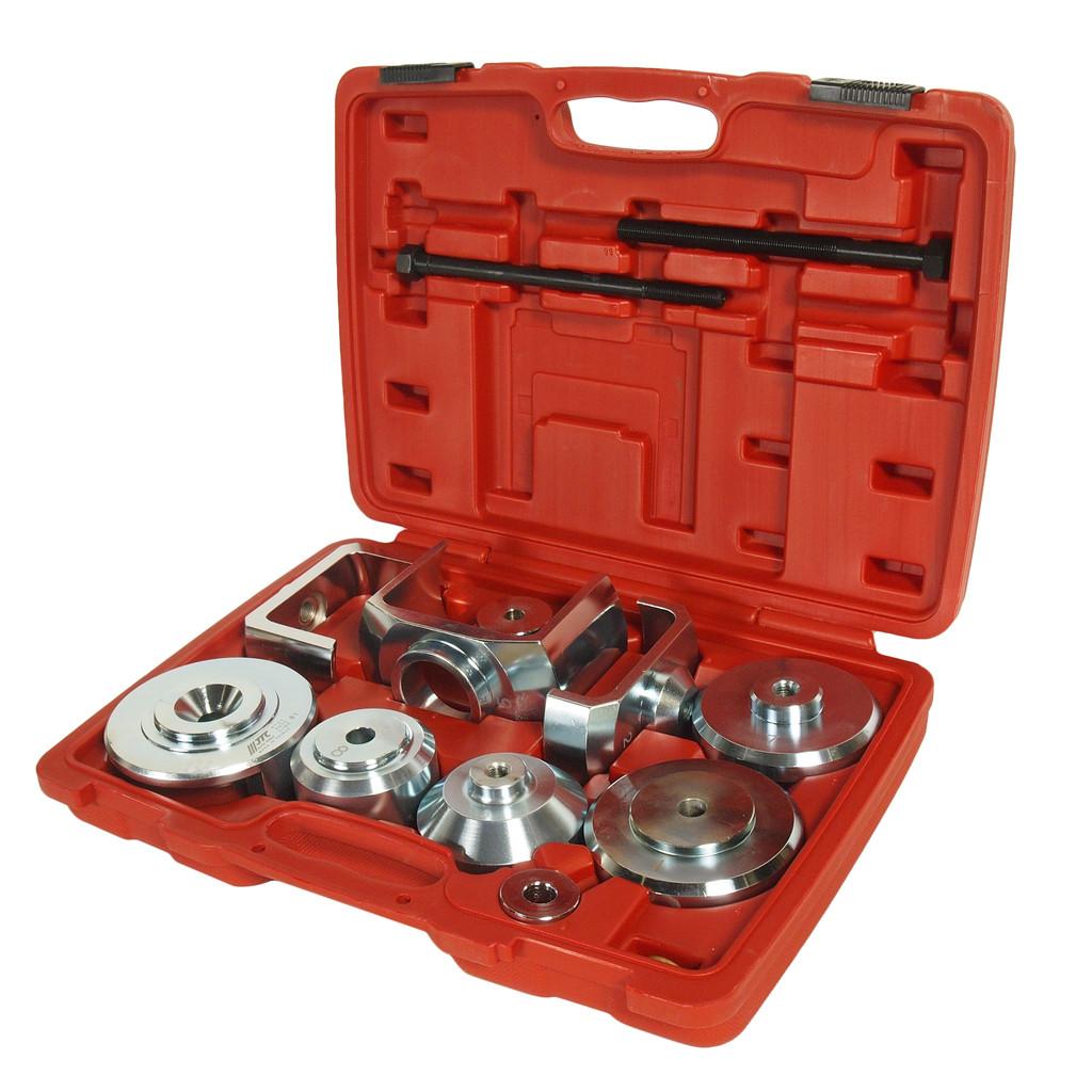 JTC Набор инструментов для демонтажа/монтажа сайлентблоков подрамника (MERCEDES W221) JTC