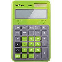 """Калькулятор настольный Berlingo""""Hyper"""" 12 разрядный CIG200 зелёный"""