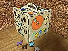Бизикуб Бизибокс Smart box Ручная работа Развивающая игрушка, фото 2