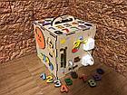 Бизикуб Бизибокс Smart box Ручная работа Развивающая игрушка, фото 4