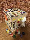 Бизикуб Бизибокс Smart box Ручная работа Развивающая игрушка, фото 3