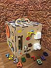 Бизикуб Бизибокс Smart box Ручная работа Развивающая игрушка, фото 5