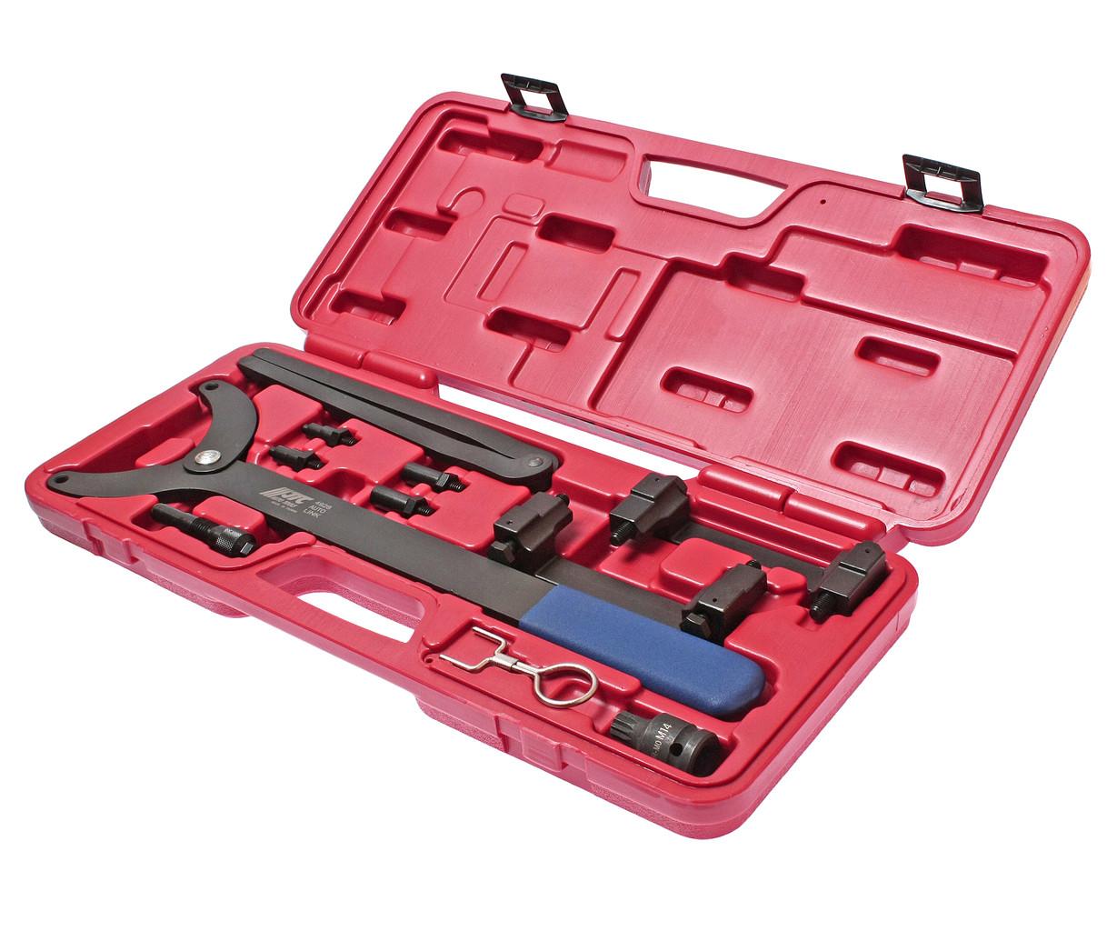 JTC Набор инструментов для синхронизации распредвала VW,AUDI 3.2FSI 10 предметов (кейс) JTC
