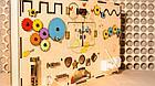 Бизиборд бизидоска Развивающая игрушка Ручная работа Отличный подарок, фото 2