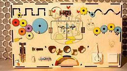 Бизиборд бизидоска Развивающая игрушка Ручная работа Отличный подарок