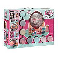 """L.O.L. surprise Diy glitter factory """"сделай сам"""" блеск фабрика игровой набор с куклой"""
