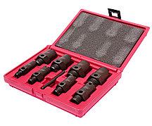 JTC Набор инструментов для восстановления резьбы штуцеров систем кондиционирования 9пр. в кейсе JTC