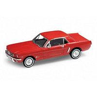 Welly, Игрушка модель винтажной машины 1:24 Ford Mustang 1964