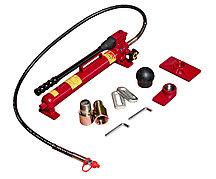 JTC Набор инструментов 38 предметов гидравлический 10т для ремонта кузова в кейсе JTC
