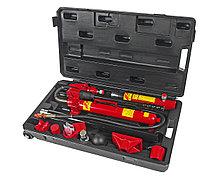 JTC Набор инструментов для кузовных работ гидравлический, усилие 10т, 17 предметов в кейсе JTC