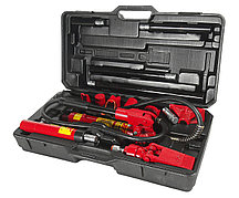 JTC Набор инструментов для кузовных работ гидравлический, усилие 4т, 17 предметов в кейсе JTC
