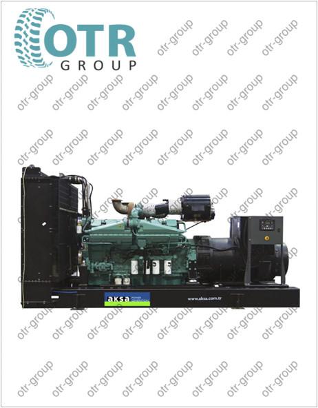 Запчасти для дизельного генератора AKSA AC-1410