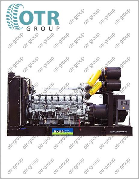 Запчасти для дизельного генератора AKSA APD-1650M