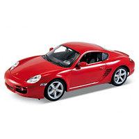 Игрушка модель машины 1:18 Porsche Cayman S