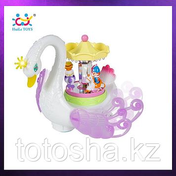 Huile Toys Лебедь карусель