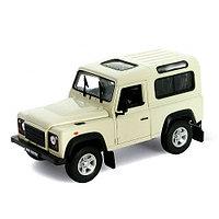 Игрушка модель машины 1:24 Land Rover Defender