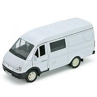 Игрушка модель машины ГАЗель фургон с окном