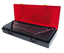 JTC Набор ключей комбинированных 10-19мм удлиненных 10 предметов в кейсе JTC