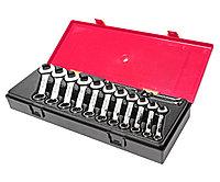 JTC Набор ключей комбинированных 6-19мм укороченных 14 предметов в кейсе JTC