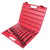 JTC Набор ключей комбинированных трещоточных 8-19мм 13 предметов в кейсе JTC