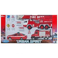 """Игрушка набор машин """"Пожарная служба"""" 10 шт."""