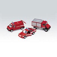 """Игрушка набор машин """"Пожарная служба"""" 3 шт."""